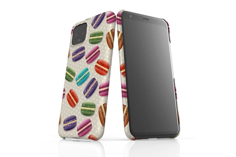 For Google Pixel 4 Snap Case Lightweight Protective Slim Unique Cover Macaron