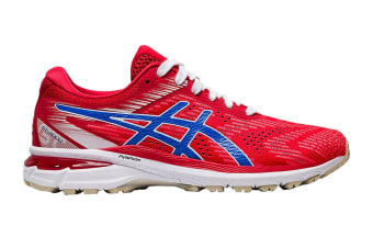 ASICS Women's GT-2000 8 Running Shoe (Classic Red/Electric Blue, Size 8.5 US)