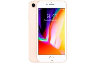 Used as demo Apple iPhone 8 64GB 4G LTE Gold Australian Stock (6 month warranty + 100% Genuine)