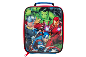 Avengers Childrens Rectangular Lunch Bag (Mulitcoloured) (One Size)
