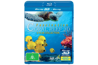 Fascination Coral Reef 3D 3D Edition Blu-ray Region B