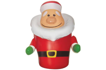 Christmas Shop Inflatable Santa Bopper (Red) (One size)
