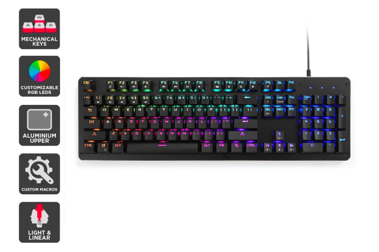 Kogan Full RGB Mechanical Keyboard (Red Switch)