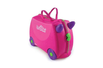 TRUNKI Ride on Kids Suitcase Luggage Toy Box TRIXIE