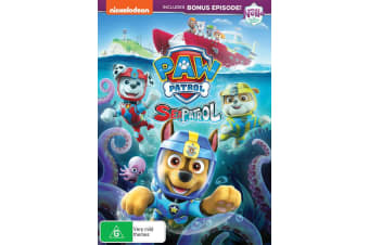 Paw Patrol Sea Patrol DVD Region 4