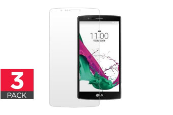 3 Pack Screen Protector for LG G4