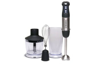 Westinghouse 800W Stick Mixer Set - Stainless Steel