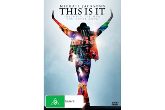 Michael Jacksons This Is It DVD Region 4