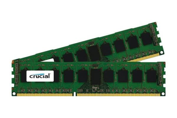 Crucial 16GB Kit (8GBx2) DDR3L 1600 MT/s (PC3L-12800) CL11 Unbuffered UDIMM 240pin 1.35V/1.5V