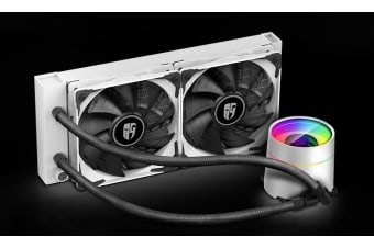 Deepcool Castle 240EX White CPU Liquid Cooler Intel