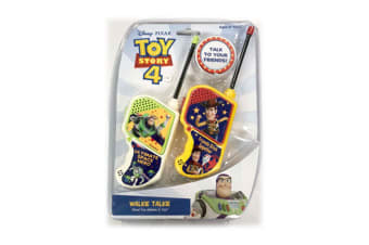 Disney Toy Story Walkie Talkie Set Kids/Children/Friends Toy/Play/Talk 60m Range