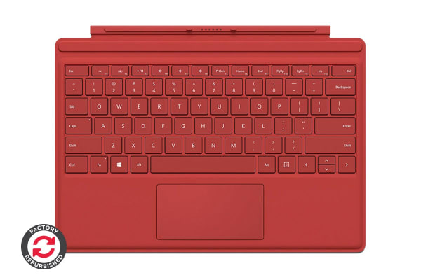 Microsoft Surface Pro Type Cover (Red) - Certified Refurbished