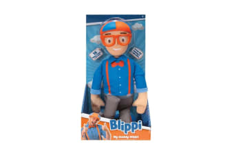 My Buddy Blippi Talking Blippi Plush