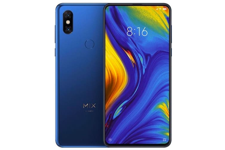 Xiaomi Mi Mix 3 5G Edition (128GB, Blue) - Global Model