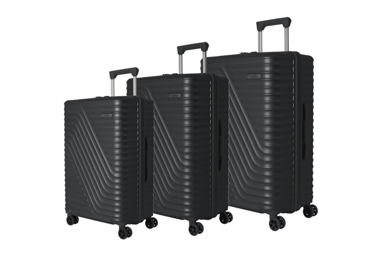 American Tourister High Rock 3 Piece TSA Luggage Set (Meteor)