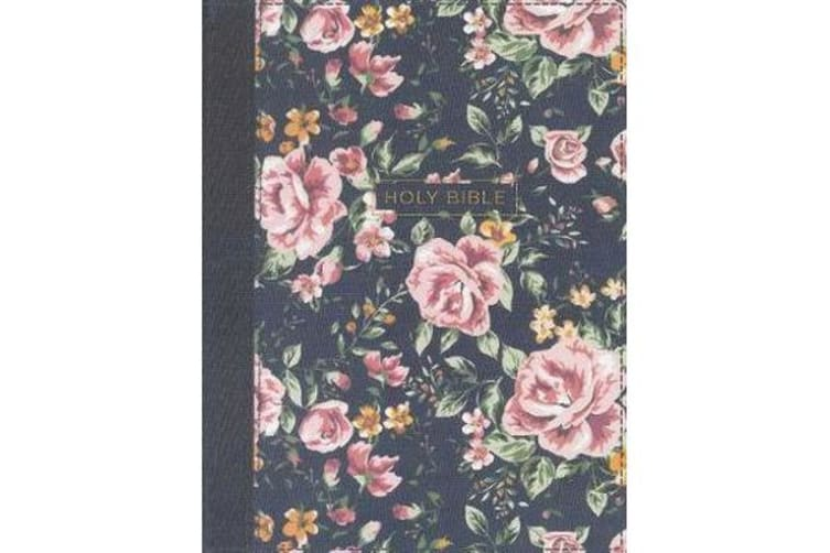 NKJV Journal The Word Bible Red Letter Edition [Floral]