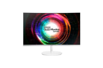 "Samsung LC32H711Q 32"" Curved QLED Monitor With Quantum Dot"