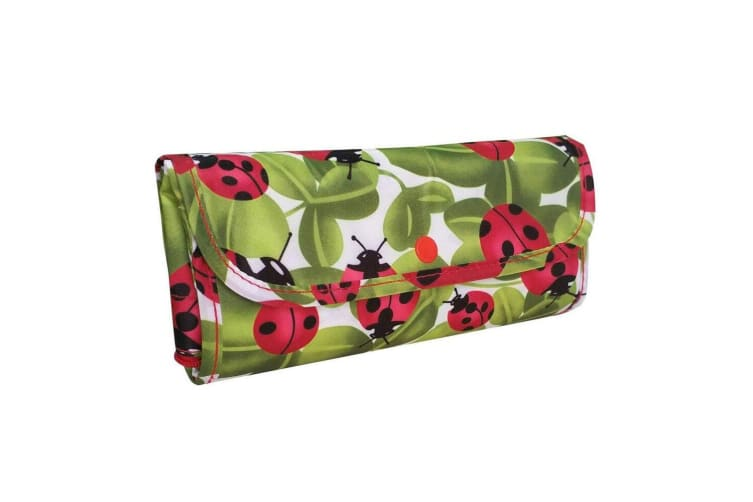 4x Sachi 40cm Insulated Thermal Cooler Shopping Bag Storage Market Tote Lady Bug