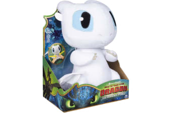 Dragons Squeeze and Growl Lightfury Plush