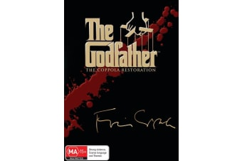 The Godfather Trilogy Box Set DVD Region 4