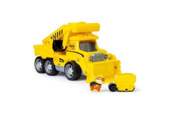 Nickelodeon Paw Patrol Kids 3y+ Ultimate Rescue Construction Dump Toy Truck YL