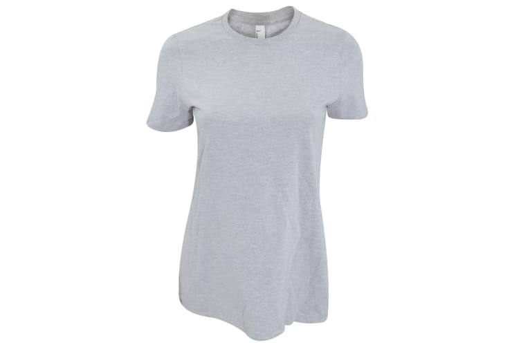 American Apparel Womens/Ladies Classic Short Sleeve T-shirt (Heather Grey) (L)
