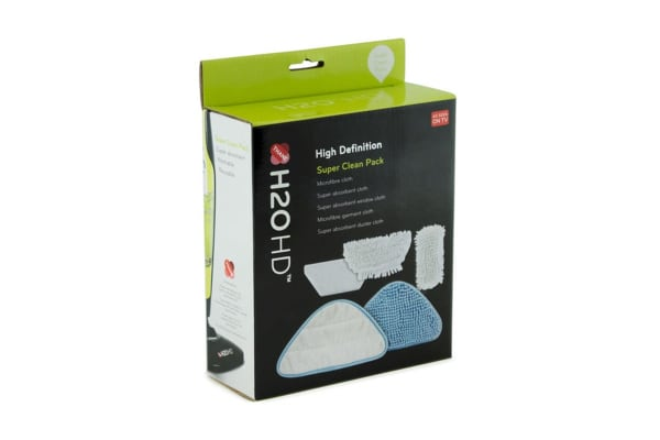 H2O HD Steam Mop Super Clean Kit