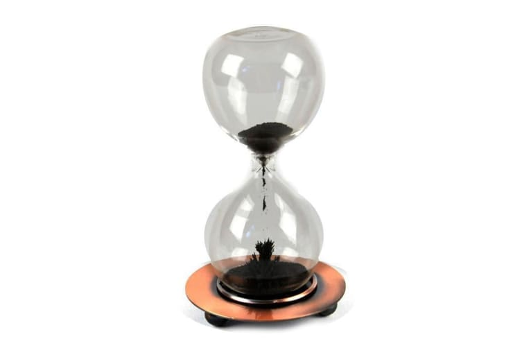 Magnetic Sand Timer | Westminster time hourglass science reversible glass