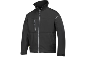 Snickers Mens Profiling Soft Shell Workwear Jacket (Black)