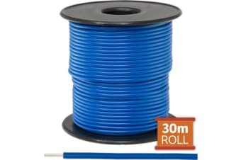 Doss 30M Blue Hookup Wire/Cable