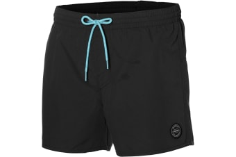 ONeill Mens Back Logo Swim Shorts (Black Out)