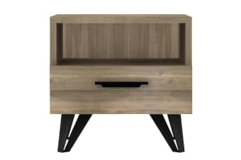 Havana Bedside Table (Natural Wood Colour)
