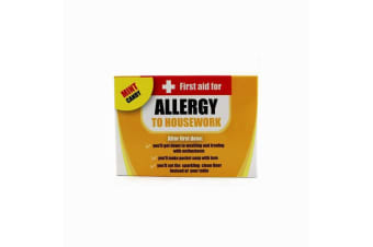First Aid Allergy Novelty Mints For Him | Allergic To Housework