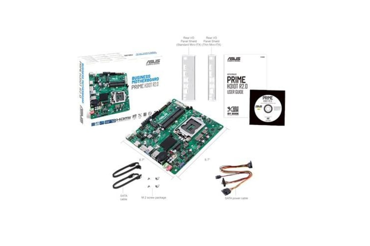 ASUS (system build only) Asus PRIME H310T R2.0-SI