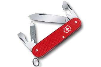 Victorinox Cadet Alox Limited Edition Swiss Army Pocket Knife Blade - Berry Red
