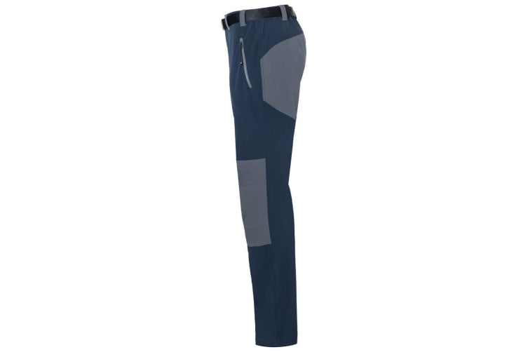James and Nicholson Mens Trekking Pants (Navy/Carbon Grey) (S)