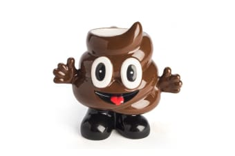 Cool Koolface Mug Coffee Tea Cups Gift Emoji Smiling Poo Face