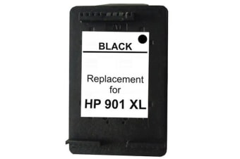 #901XL Black Remanufactured Inkjet Cartridge