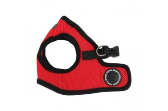 Puppia Soft Vest Dog Harness B (Red)