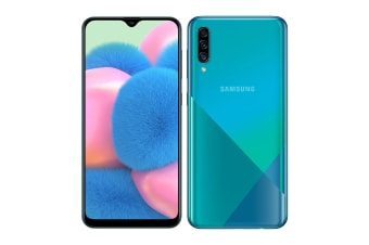 Samsung Galaxy A30s Dual SIM (4GB RAM, 64GB, Prism Crush Green)