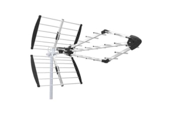 UHF 15.5DB Triple Rhombic Log Periodic Antenna