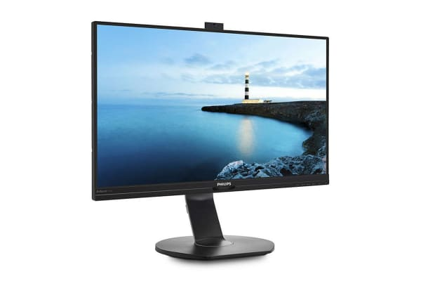 """Philips 27"""" 2K 2560x1440 IPS Business Monitor with Security Webcam (272B7QPTKEB)"""