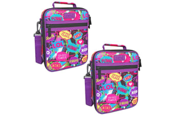 2x Sachi Thermal Insulated Picnic Lunch Tote Cooler Carry Case Bag Youth Culture