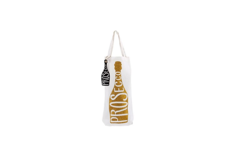 CGB Giftware Lets Party Prosecco Glitter Bottle Bag (Multi) (One Size)