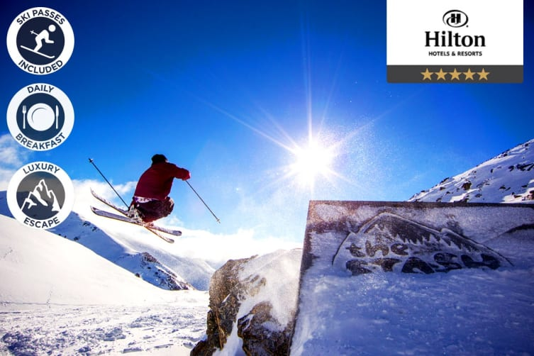 NEW ZEALAND: 5 Night Luxury Queenstown Ski Package For Two