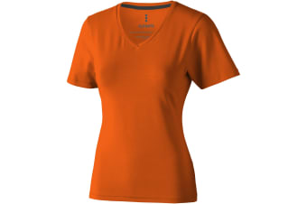 Elevate Womens/Ladies Kawartha Short Sleeve T-Shirt (Orange) (XL)