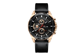 WJS Stylish Waterproof Outdoor Sports and Leisure Watch Belt Calendar Quartz Watch Suitable for Men-5