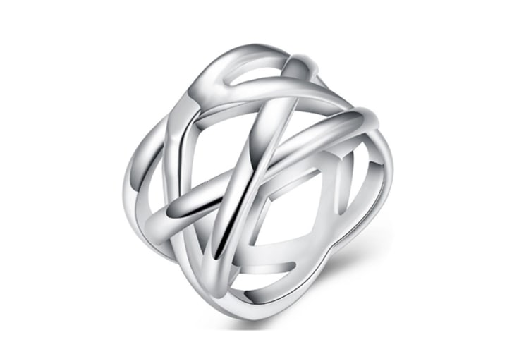 Fine Nets Ring New Design Silver Plated Trendy Ring 8