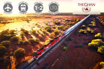The Ghan – 5 Day Luxury Rail from Darwin to Adelaide Including Flights