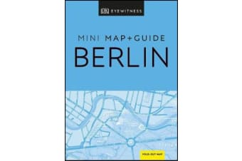 DK Eyewitness Berlin Mini Map and Guide